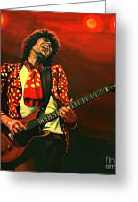 Keith Richards Greeting Card by Paul Meijering
