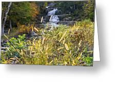 Kent Falls Greeting Card by Bill Wakeley