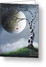 Key To My Imagination By Shawna Erback Greeting Card by Shawna Erback