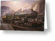 Kg5 At Paddington. Greeting Card by Mike  Jeffries