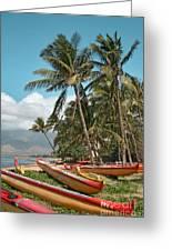 Kihei Maui Hawaii Greeting Card by Sharon Mau