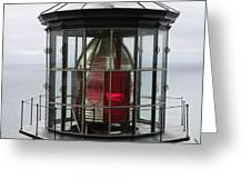Kilauea Lighthouse Greeting Card by Peter French