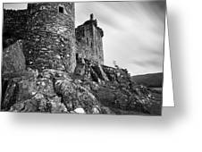 Kilchurn Castle Greeting Card by Dave Bowman