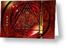 King Crimson Greeting Card by Franziskus Pfleghart