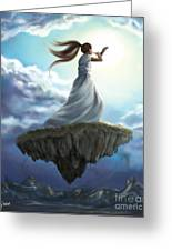 Kingdom Call Greeting Card by Tamer and Cindy Elsharouni