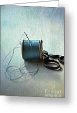 Kingfisher Blue Greeting Card by Jan Bickerton