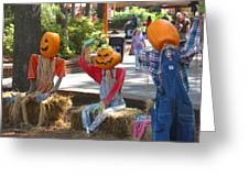 Kings Dominion - Halloween - 12124 Greeting Card by DC Photographer