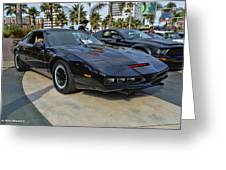 Kitt Greeting Card by Tommy Anderson