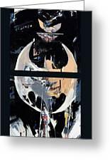 Knight 1... My City Greeting Card by David Leblanc