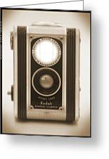 Kodak Duaflex Camera Greeting Card by Mike McGlothlen