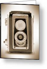 Kodak Duaflex Iv Camera Greeting Card by Mike McGlothlen
