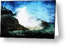 Kona Sea Greeting Card by Athala Carole Bruckner