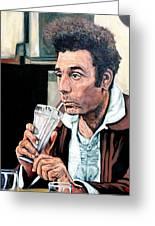 Kramer Greeting Card by Tom Roderick