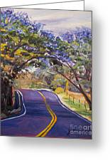 Kula Cruising Greeting Card by Jennifer Beaudet