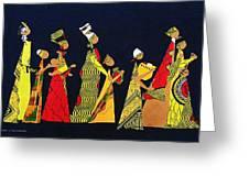 Kwaanza Celebration Greeting Card by Ruth Yvonne Ash