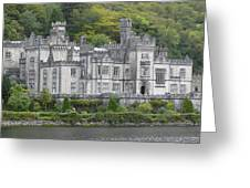 Kylemore Abbey Greeting Card by Mike McGlothlen