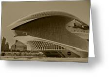 L' Hemisferic - Valencia Greeting Card by Juergen Weiss