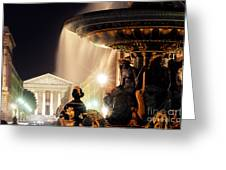 La Madeleine Paris Greeting Card by Colin Woods