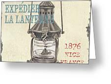 La Mer Lanterne Greeting Card by Debbie DeWitt