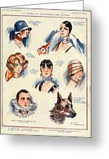 La Vie Parisienne 1924 1850s France F Greeting Card by The Advertising Archives