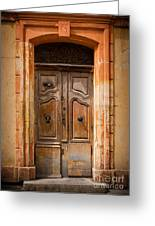 La Vieille Porte Greeting Card by Inge Johnsson