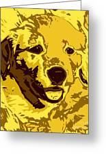 Labrador Greeting Card by Chris Butler