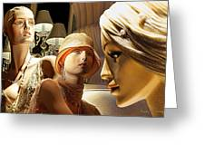 Ladies Of Rodeo Drive Greeting Card by Chuck Staley