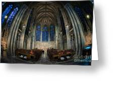 Lady Chapel At St Patrick's Catheral Greeting Card by Jerry Fornarotto