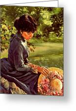 Lady Katherine Greeting Card by Michael Swanson
