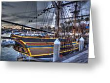 Lady Washington Greeting Card by Heidi Smith