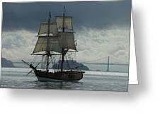 Lady Washington Greeting Card by Sabine Stetson