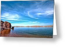 Lake Desmet Greeting Card by Jana Thompson