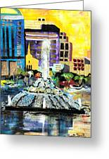 Lake Eola - Part 2 Of 3 Greeting Card by Everett Spruill