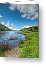 Lake In Wales Greeting Card by Adrian Evans