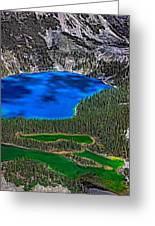 Lake O'hara Greeting Card by Steve Harrington