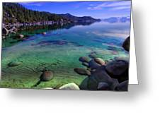 Lake Tahoe Waterscape Greeting Card by Scott McGuire