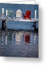 Lakeside Living Number 2 Greeting Card by Steve Gadomski