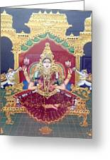 Lakshmi Greeting Card by Jayashree