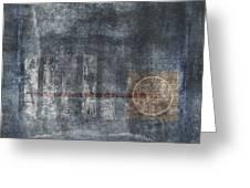 Land Bridge Greeting Card by Carol Leigh