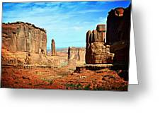 Land Of The Giants Greeting Card by Marty Koch