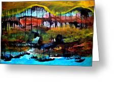 Landscape 121003-2 Greeting Card by Aquira Kusume