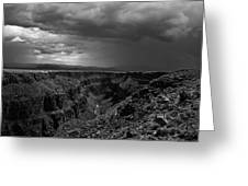 Landscape 17 D Taos Nm Greeting Card by Otri  Park