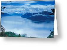 Landscape Greeting Card by Anonymous