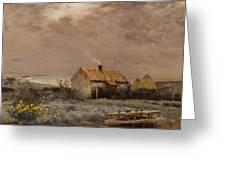 Landscape Greeting Card by Jean Charles Cazin