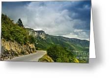 Landscape Greeting Card by Jelena Jovanovic
