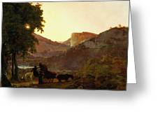 Landscape Greeting Card by Joseph Wright of Derby