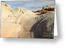 Landscape Swirls Greeting Card by Adam Jewell