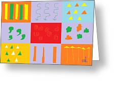 Larnaca Shop Window 9 Greeting Card by Anita Dale Livaditis
