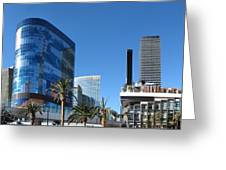 Las Vegas - Cosmopolitan Casino - 12121 Greeting Card by DC Photographer