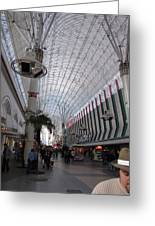 Las Vegas - Fremont Street Experience - 12121 Greeting Card by DC Photographer